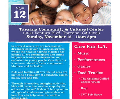 """Care Fair L.A."" Is This Sunday, Nov. 12!"