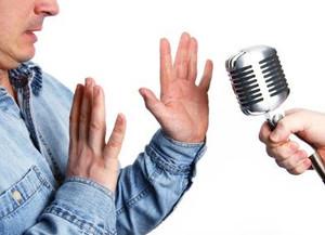 I have to speak in public!