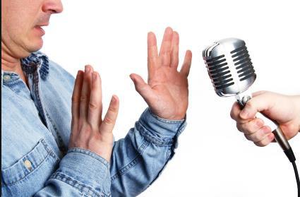 me... speak in public!  oh no!