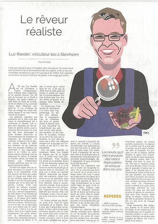 Artikel Jeudi Portrait du 14.03.2019 au