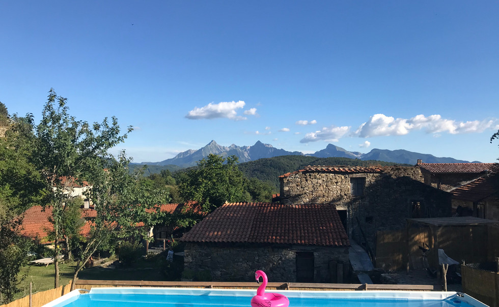 agriturismo b&b Luna di Quarazzana Lunigiana Pool
