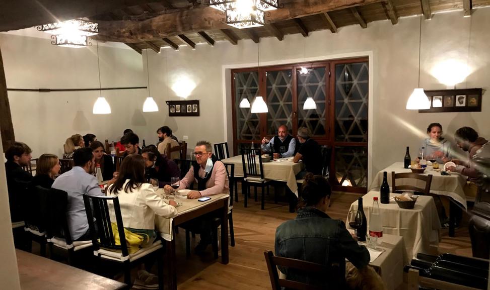 agriturismo b&b Luna di Quarazzana Lunigiana restaurant