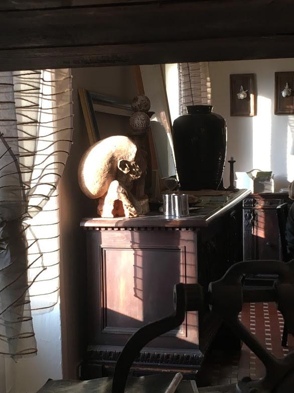 Art agriturismo b&b Luna di Quarazzana Lunigiana livingroom