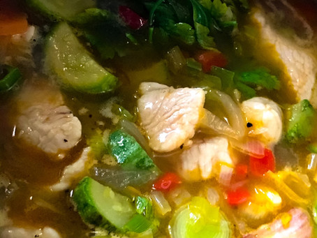 Zuppetta di Pollo e Peperoni