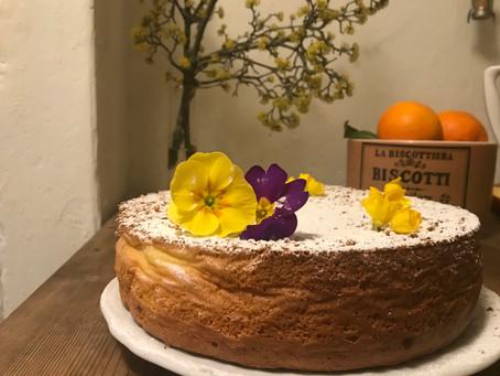 Chiffon Cake - Torta sofficissima ! Non ne rimarra una briciola! Super Soft