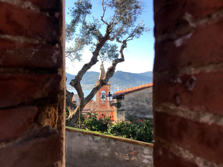 Portoferraio city founded by Medici with the charm of ancient times