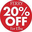 20-off-sconto-ferry elba villa rosa dei