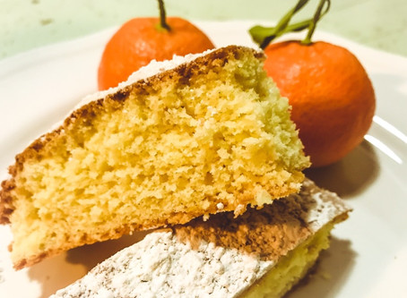 Delicious authentic cake : Schiacciata alla Fiorentina