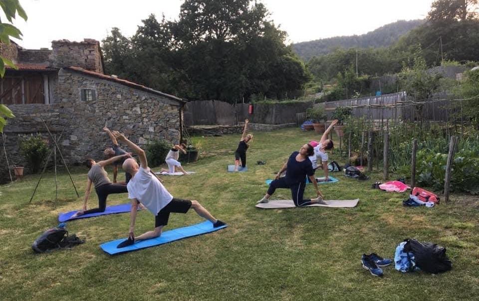 agriturismo b&b Luna di Quarazzana Lunigiana yoga and relax