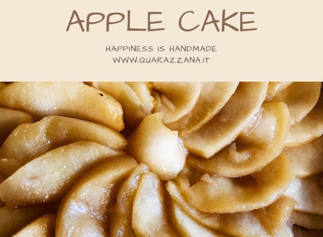 Apple & Custard grandma Cake