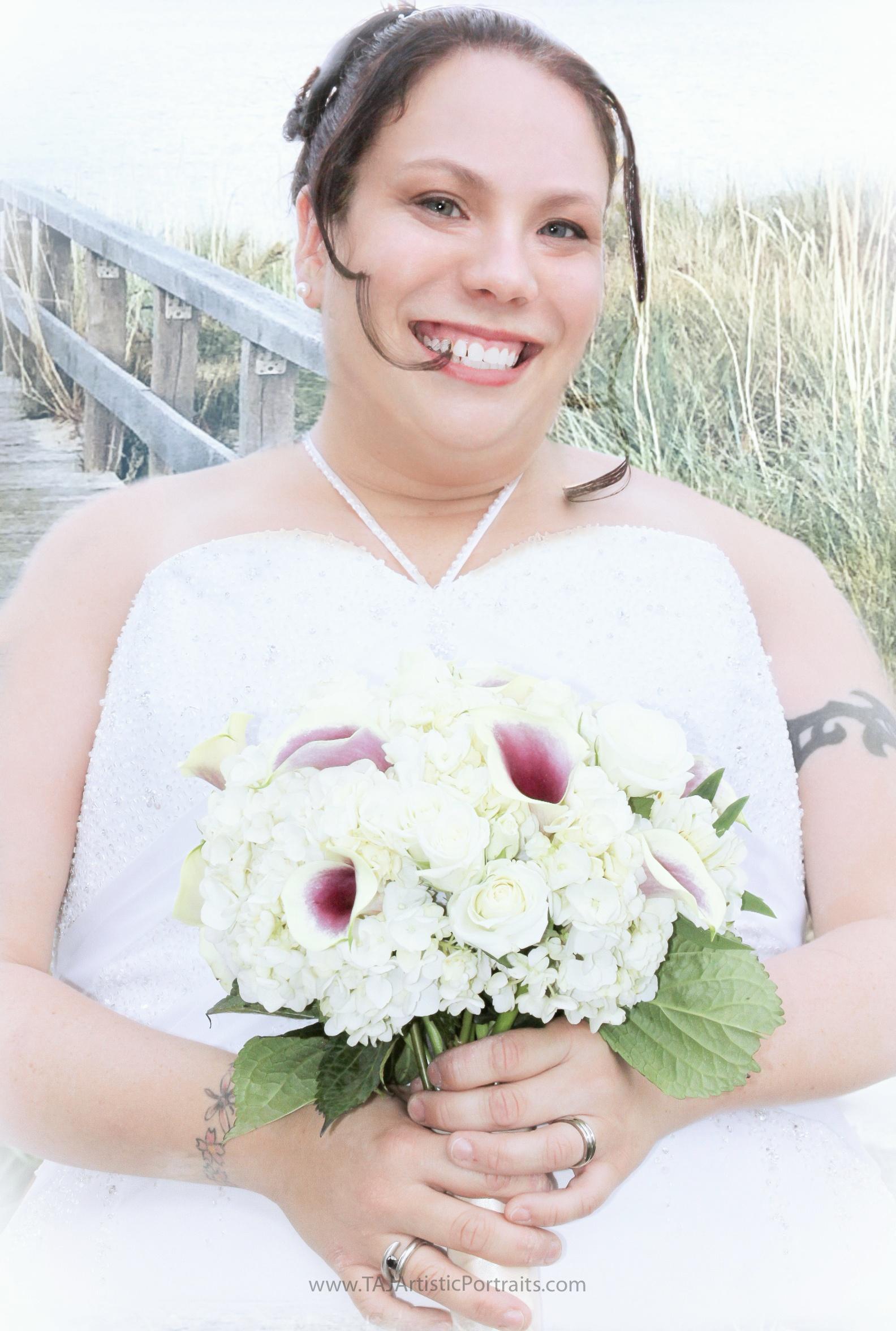 Beachy Bridal Portraits