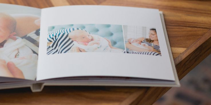 Layflat Keepsake Baby Book