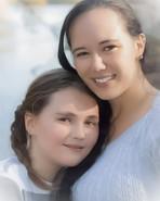 Mother Daughter Portrait