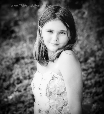 Fine Child Portrait in B&W