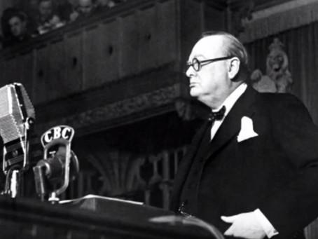 Winston avant Downing Street