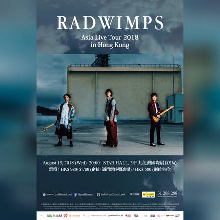 2018-AUG / RADWIMPS