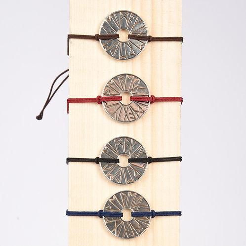 "Bracelet ""Viking"" argent antique"