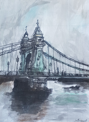 Hammersmith Bridge Study I