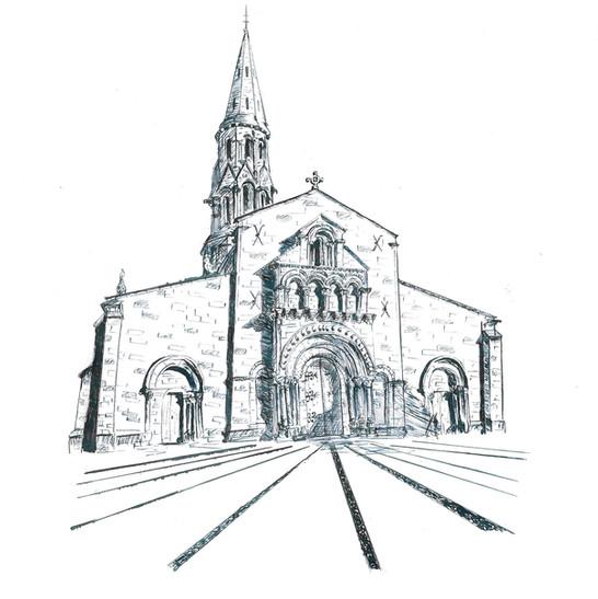 Saint Jean d'Etampes à la Brède