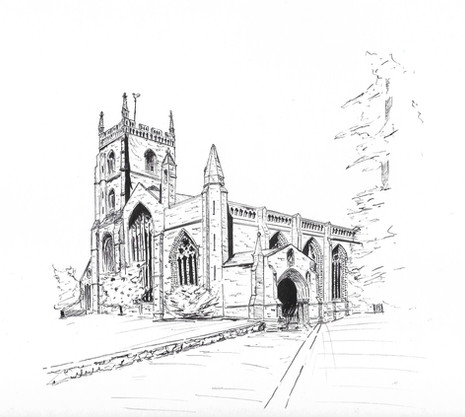 The Priory Church of St Peter & St Paul,  Leominster