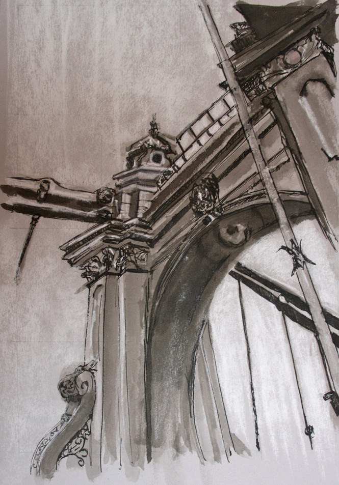 Hammersmith Bridge Study II