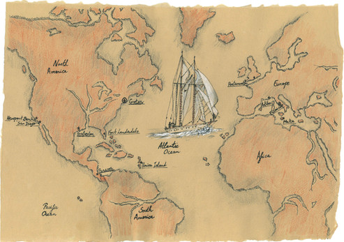 The History of Puritan Map