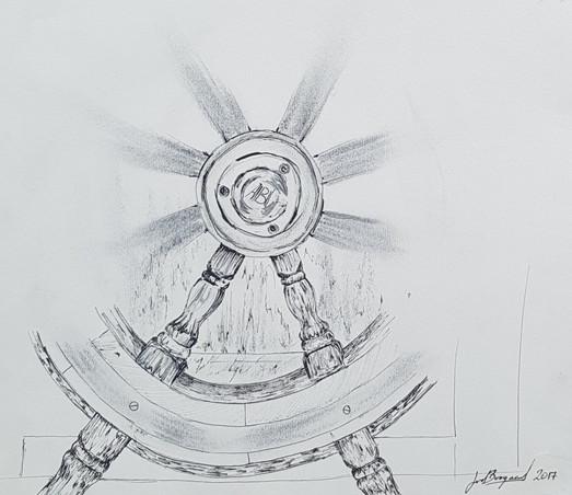 Puritan Helm Sketch