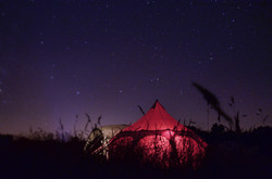 Tent by night