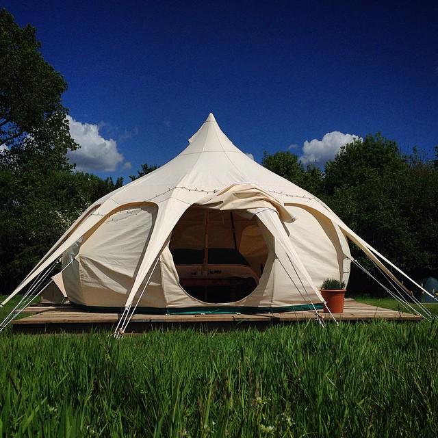 Lotus Belle Tent '15