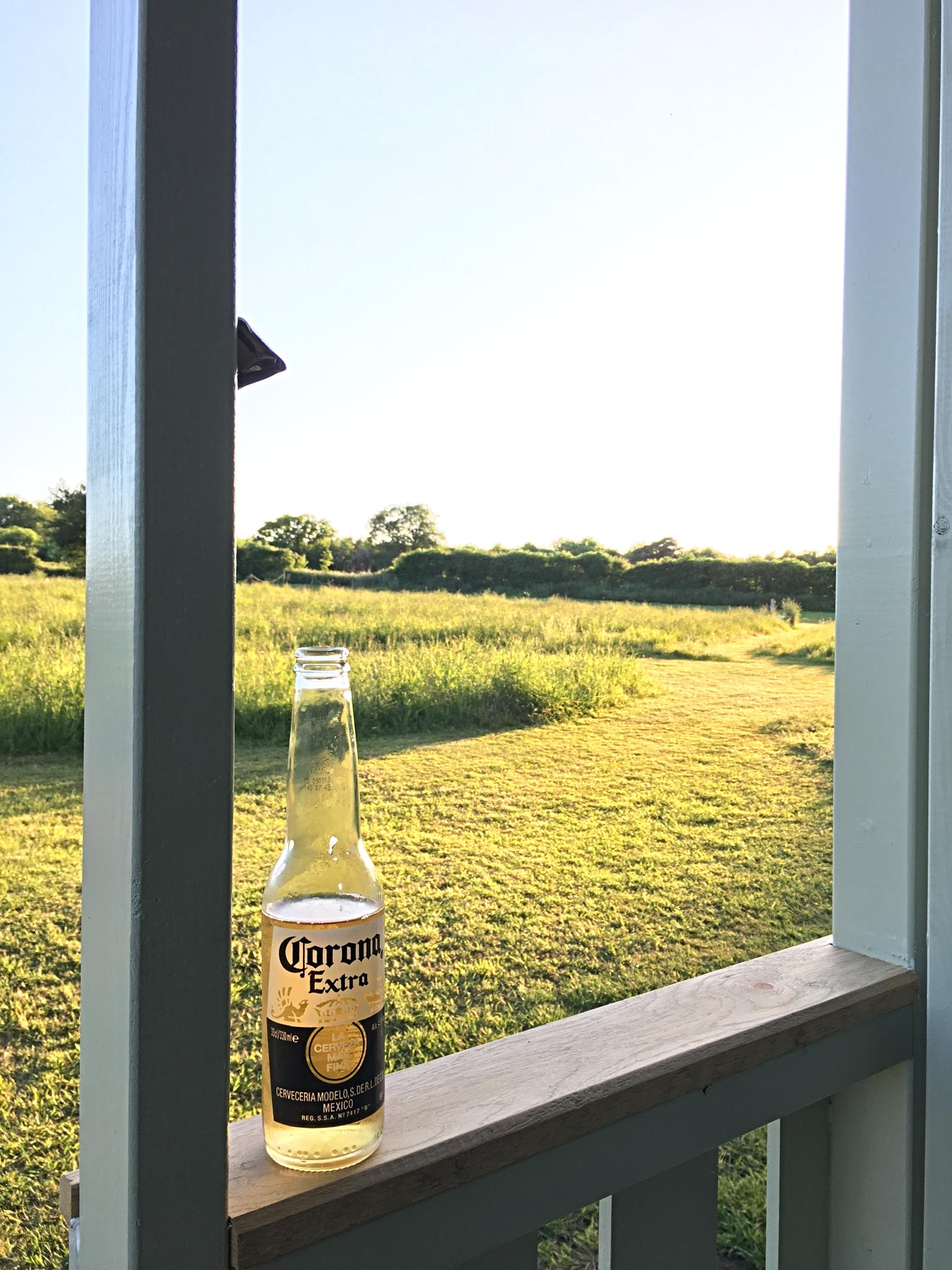 An evening beer