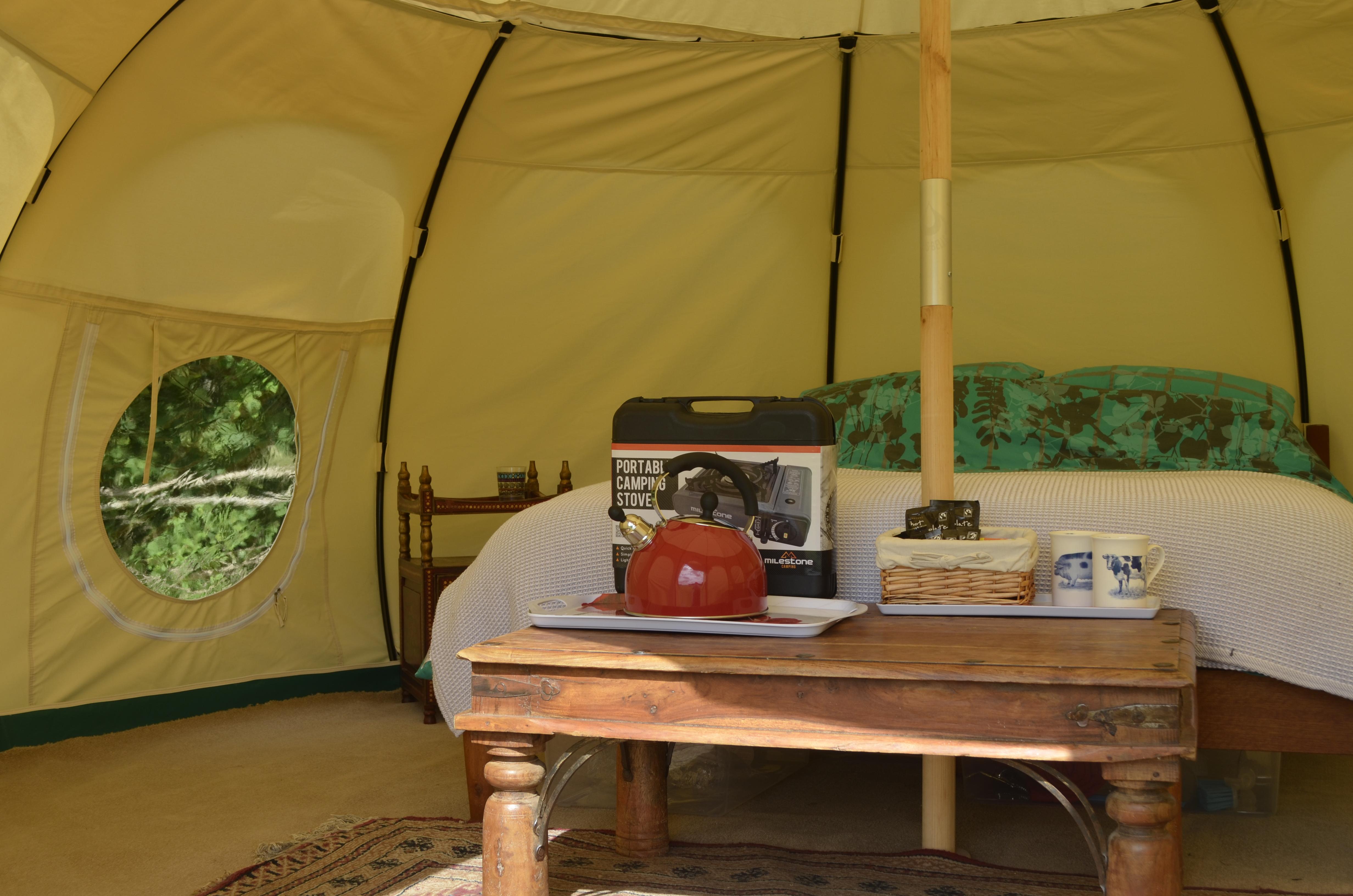 Pampered Camping