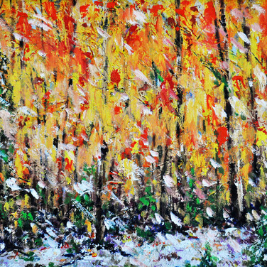 ENCHANTED FOREST, Oil, 24x30 framed
