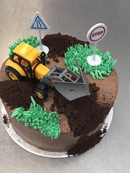 Construction Cake