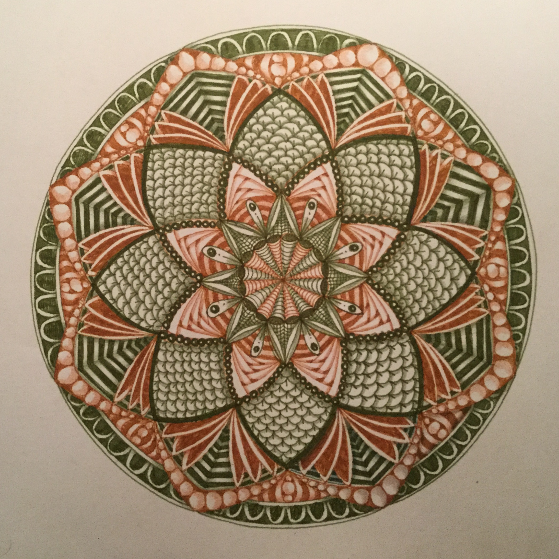 Mandala Art Class