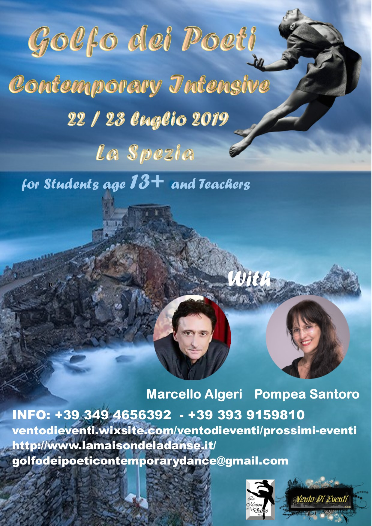 flyer golfo dei poeti contemporay