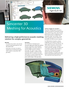 Simcenter 3D Meshing fo Acoustics Brochure