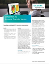 Simcenter 3D Acoustic Transfer Vector Brochure