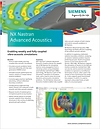 NX Nastran Advanced Acoustics Brochure