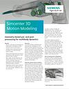 Simcenter 3D Moton Modeling