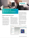 Simcenter 3D FE Model Correlation Brochure