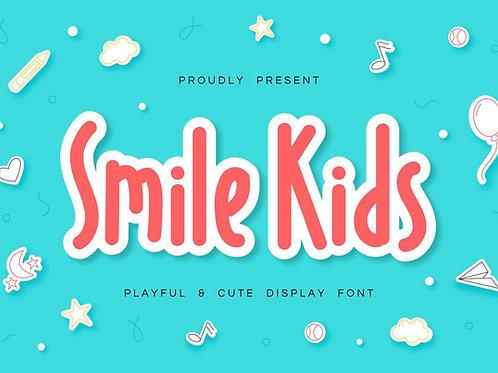Smile Kids - Playful & Cute Font