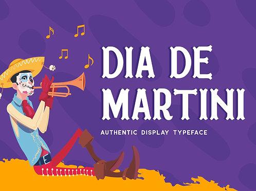 Dia De Martini – Authentic Display Typeface