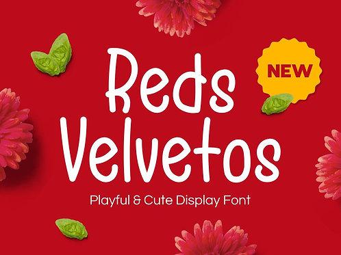 Reds Velvetos - Playful & Cute Font