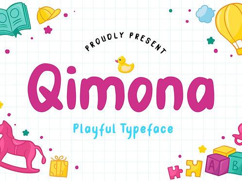 Qimona – Playful Typeface