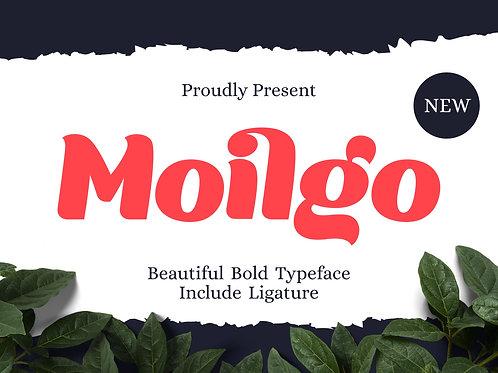 Moilgo - Beautiful Bold Font