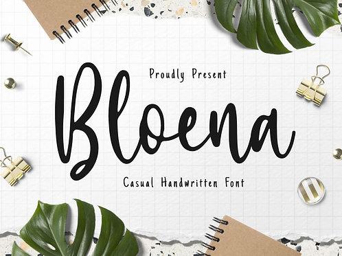 Bloena - Casual Handwritten Font