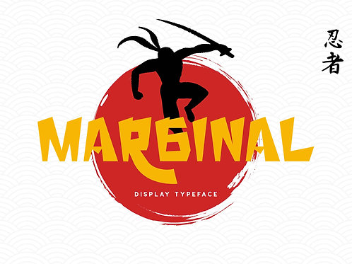 Marginal – Display Typeface