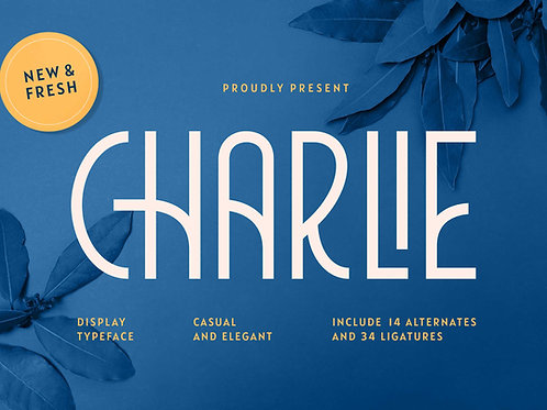 Charlie – Luxury Condensed Typeface