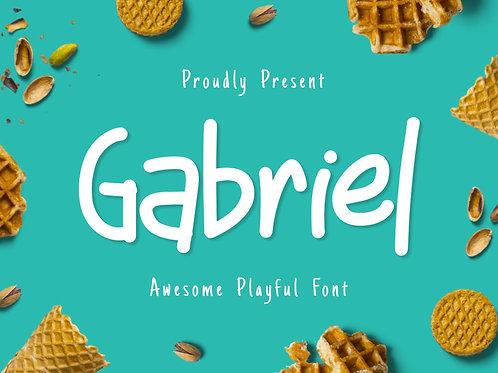 Gabriel - Awesome Playful Font