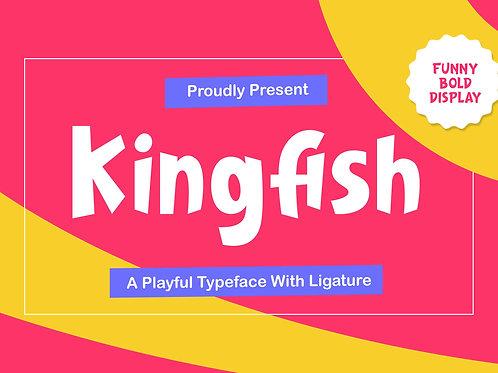 Kingfish – Playful Typeface